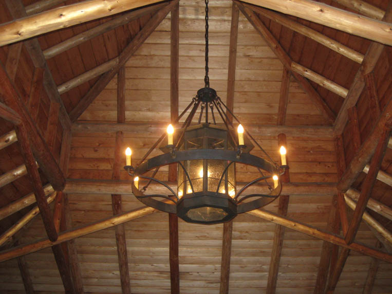 Custom Wrought Iron Chandeliers – Rustic Wrought Iron Chandelier