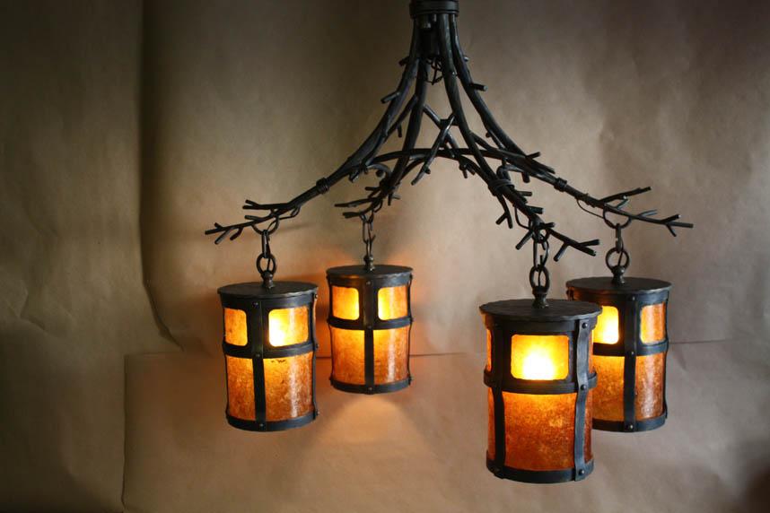 Custom Wrought Iron Chandeliers En Coop Forge Blacksmith S Design Rustic Lighting
